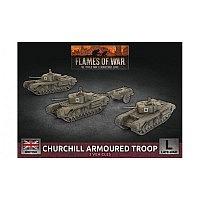 Vorbestellung - BF/FoW4: Churchill Armoured Squadron