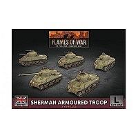 Vorbestellung - BF/FoW4: Sherman Armoured Troop