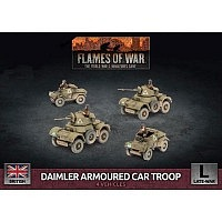 Vorbestellung - BF/FoW4: Daimler Armoured Car Troop
